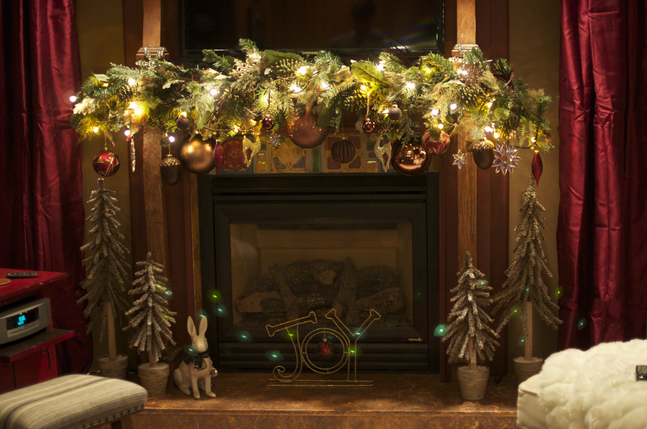Beautiful Ideas For Christmas Fireplaces Decor. «
