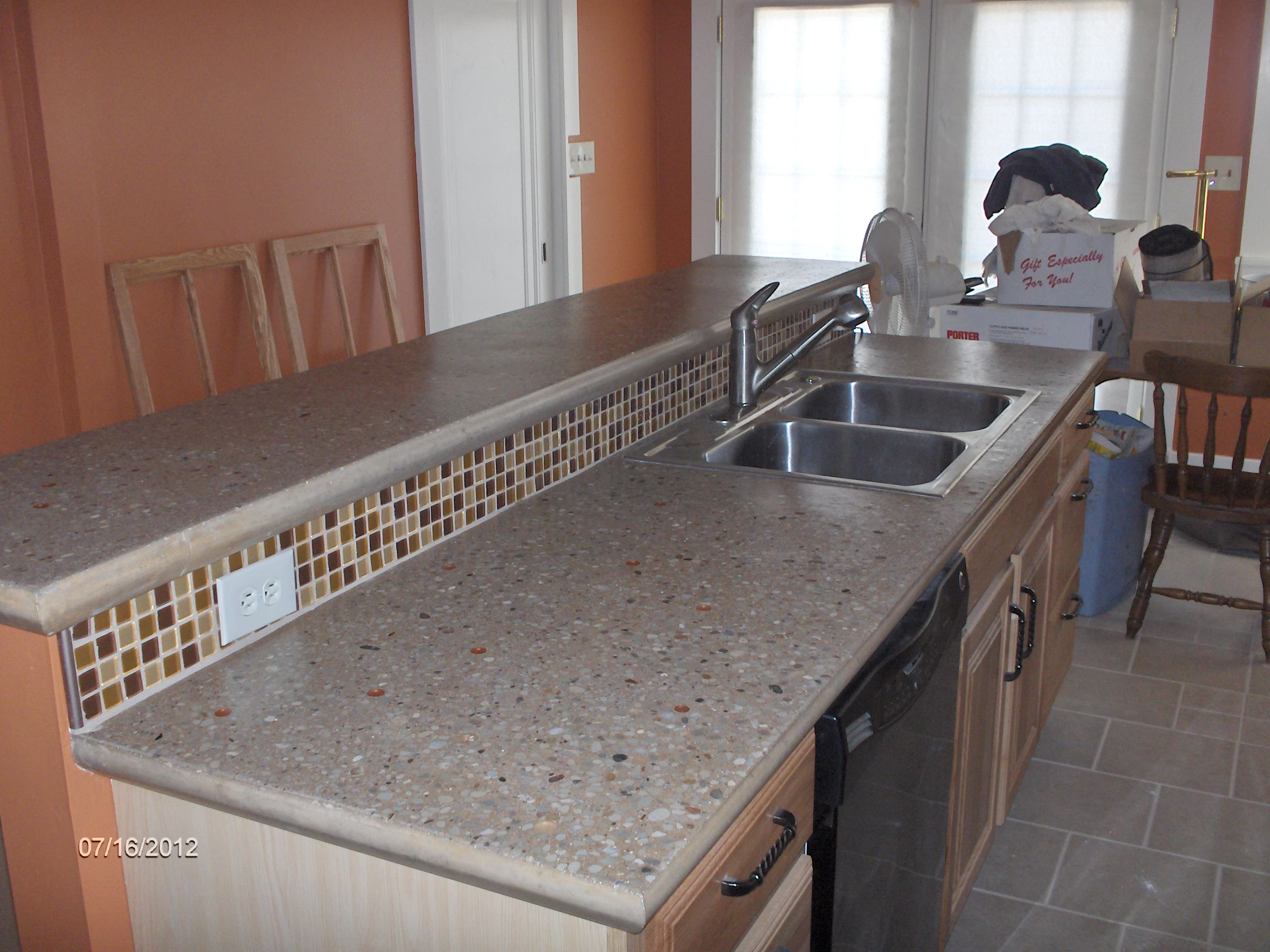 Building And Installing Diy Concrete Countertops. «