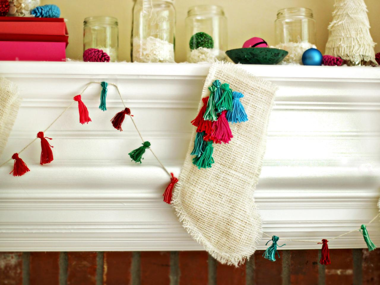 Personalized Diy Christmas Stockings Ideas