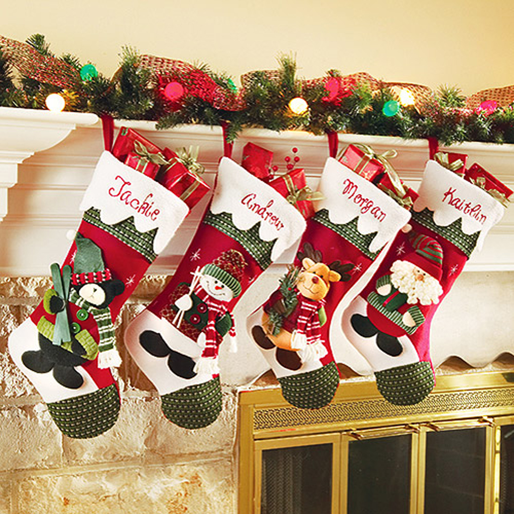 Personalized Diy Christmas Stockings Ideas Elly S Diy Blog