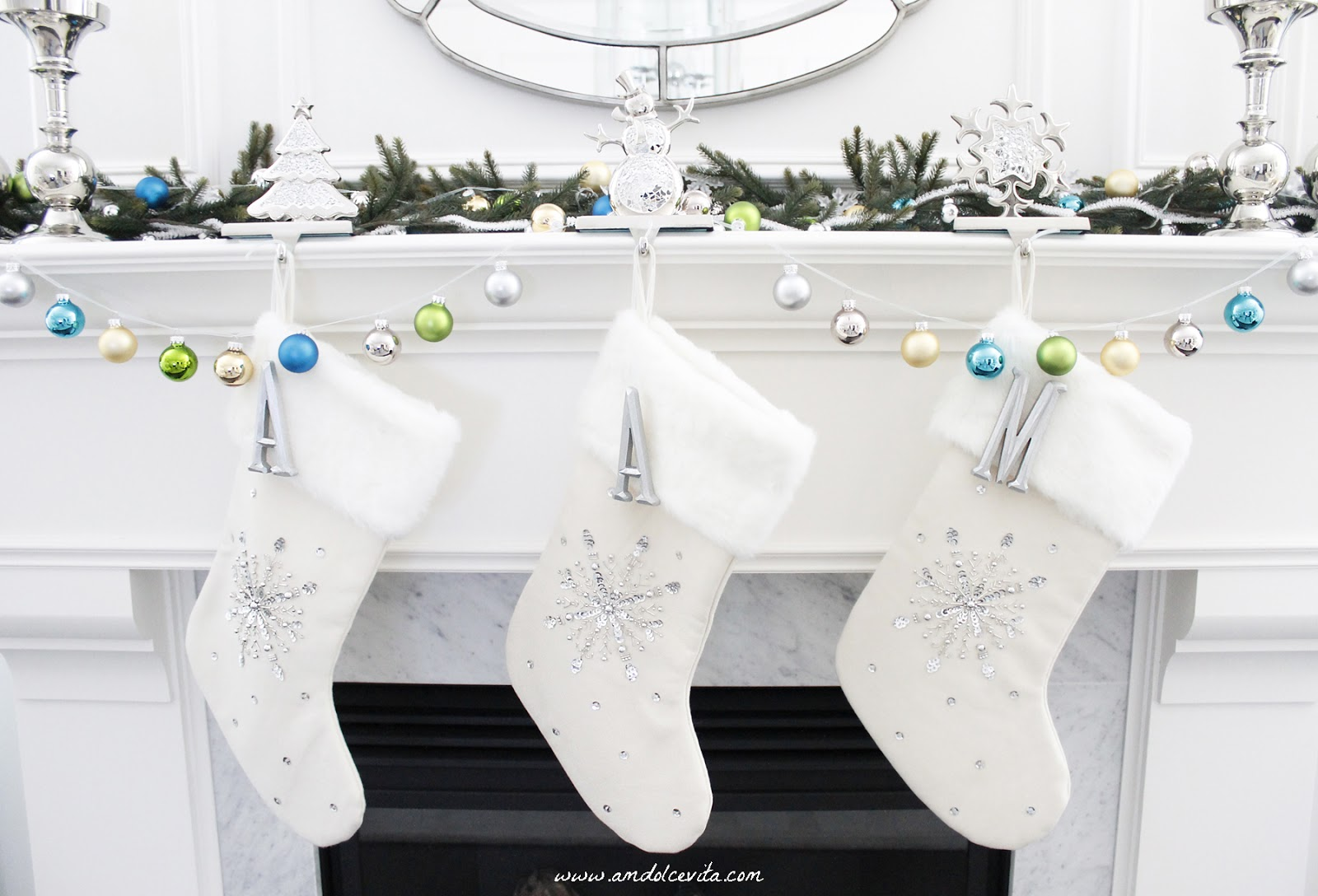 Personalized diy christmas stockings ideas ellys diy blog diy christmas stockings 6 solutioingenieria Images