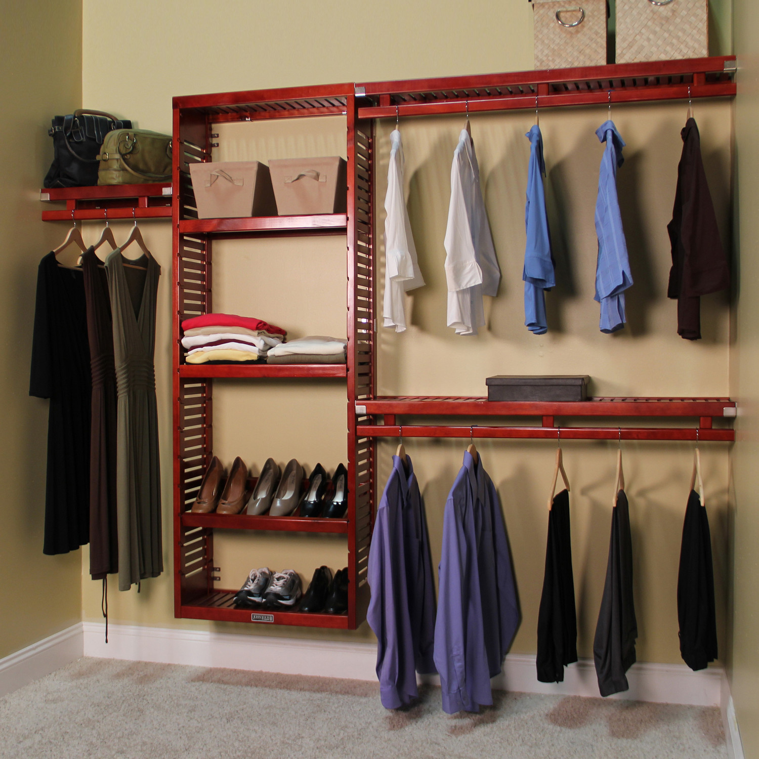 Cool Diy Closet System Ideas For Organized People | Elly\u0027s DIY Blog