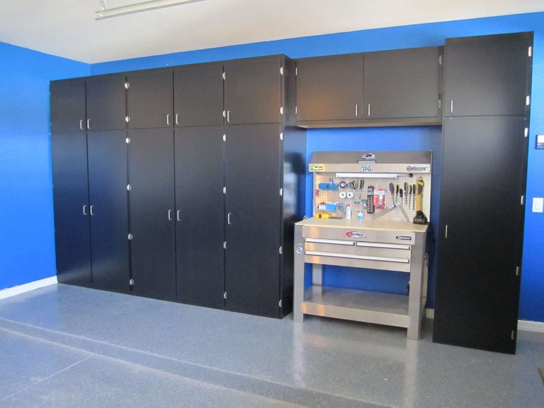 storage galleries garage concrete cabinets closet coatings