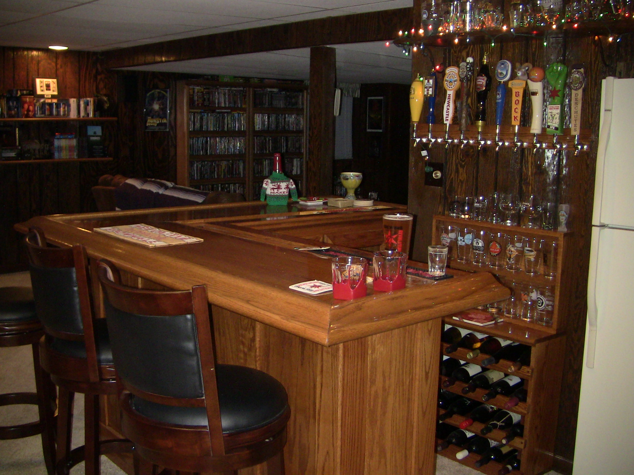Attractive Coolest Diy Home Bar Ideas. «