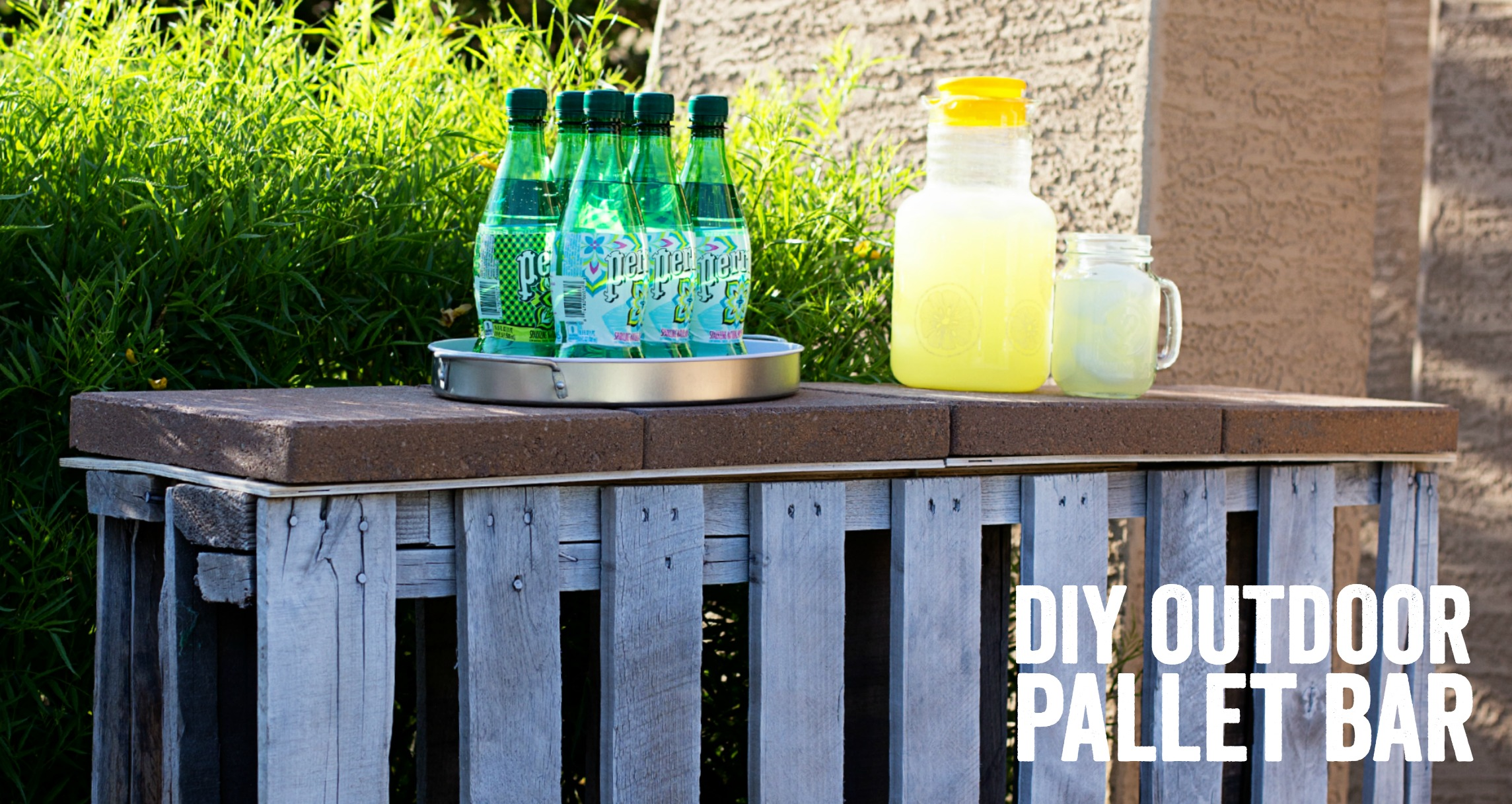 Diy Pallet Bar Ideas And Projects. «