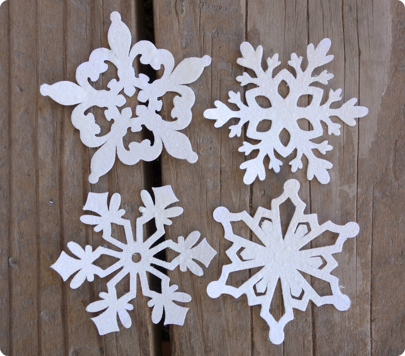 Cut Out Snowflake Craft